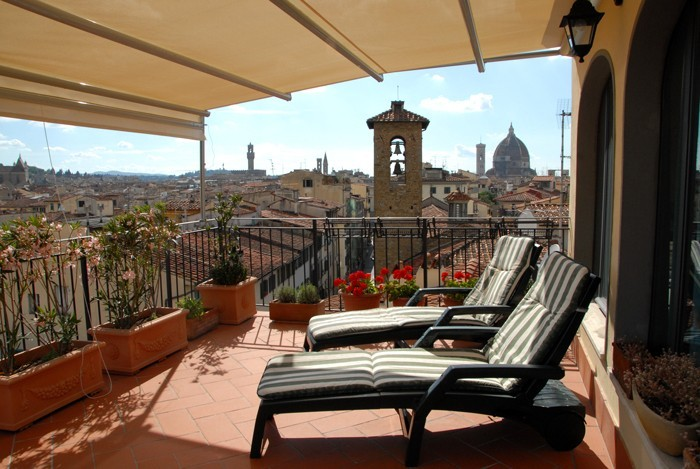 La Terrazza Apartment With A View In Florence Center